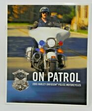 2005 Harley-Davidson Motorcycles Brochure - On Patrol Police Motorcycles