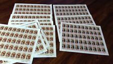 More details for sg 100-101 1971 barbados xmas 11 complete sheets mnh stamps