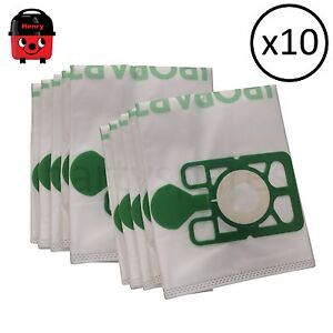 10 High capacity Dust Bags for HENRY HETTY Vacuum Cleaner Hoover High Filtration