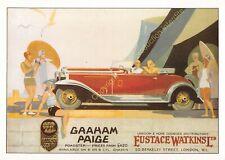 Postcard reproduction publicité Automobile GRAHAM PAIGE