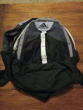 Adidas backpack black and Grey used back to school.