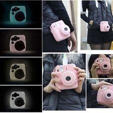 Silicone Noctilucent Camera Case Bag Instax Mini 8 For Fujifilm Fuji Polaroid