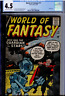 World of Fantasy #17 CGC 4.5 OW/WHITE Steve Ditko, Jack Kirby, Burgos, Baker art