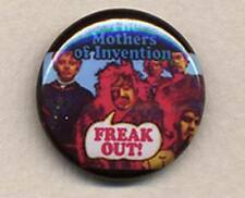 FRANK ZAPPA and the MOTHERS  of INVENTION: FREAK OUT 25mm badge
