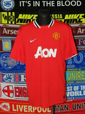 5/5 Manchester United adults XXL 2011 MINT football shirt jersey trikot soccer