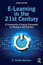 E-LEARNING IN THE 21ST CENTURY - GARRISON, D. RANDY - NEW PAPERBACK BOOK