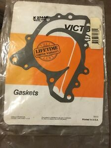 Engine Water Pump Gasket Victor K27444 fits 1985 Oldsmobile 98