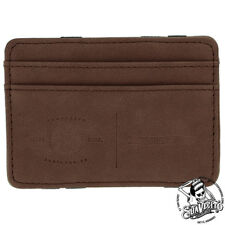 Suavecito Premium Blends Embossed Magic Wallet - Coffee