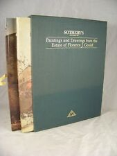 PAINTINGS DRAWINGS ESTATE FLORENCE GOULD SOTHEBYS CATALOG 1ST PRINTING SLIPCASE