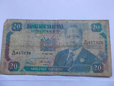 Billet KENYA 20 shillings