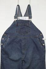 Salopette BABY AND ME(Cod. S287)Tg.M Premaman Jeans usato vintage Original