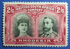 1910 RHODESIA 2S6d SCOTT# 113 S.G.# 156 UNUSED                           CS09771