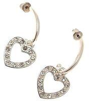 Heart Earrings Heart Drop Earrings Heart Jewellery IAS398