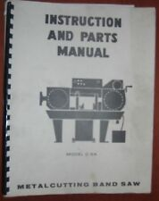 DoAll C-5A Instruction & Parts Book