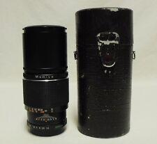 OEM MAMIYA/Sekor f/3.5 200mm CS Telephoto Lens SLR Film Camera NC Mount w/Case