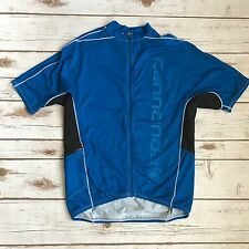 Canondale Cycling Blue Full Zip Jersey S