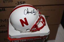 Nebraska Cornhuskers Irving Fryar #27 Signed Ridell Mini Helmet Chof Patriots