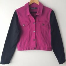 Denim Solid Denim Jacket Coats, Jackets & Vests for Women