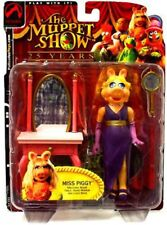 The Muppets The Muppet Show Miss Piggy Action Figure [Purple Dress]