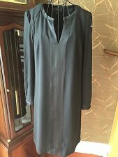 Ladies NEW Lovely Black Long Sleeve Formal Special Occasion Dress NEXT Size10-12
