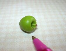 Miniature Twin Heart Amazing Green Apple (TYPE 1): for DOLLHOUSE, 1:12 Scale
