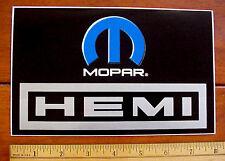 "Mopar Performance Hemi Engines Auto Racing 8"" x 5"" Vinyl Sticker Decal. New"