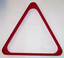 Triangle Rack Red Wood Felt Pool Billiards Regulation Size Free Ship and SPOTS