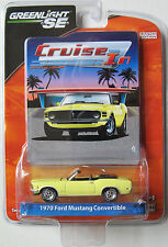 GREENLIGHT CRUISE IN MUSTANG: 1970 FORD MUSTANG CONVERTIBLE