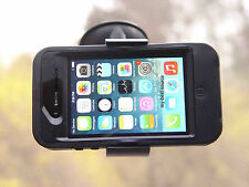 Car/Truck Windshield Mount Holder FOR Otterbox iPhone 4S/4 Defender Case on