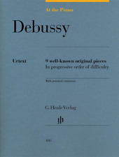 Henle Urtext Debussy: At the Piano 9 Well-Known Original Pieces