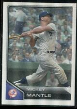 2011 Topps Lineage Cloth Stickers 5 Mickey Mantle