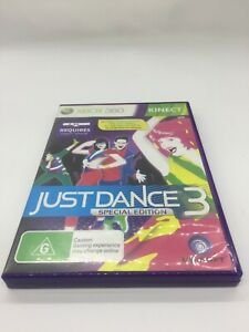 XBOX 360 GAME JUST DANCE 3 SPECIAL EDITION