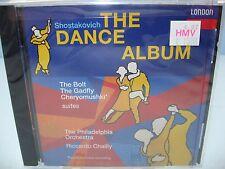 Shostakovich THE DANCE ALBUM - SUITES, Philadelphia O/Chailly London NEW