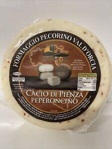 Pecorino Peperoncino Italian Sheeps Cheese With Chilli Peppers  . Not Manchego
