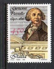 ITALY MNH 1990 SG2099 250TH BIRTH ANV OF GIOVANNI PAISIELLO (COMPOSER)