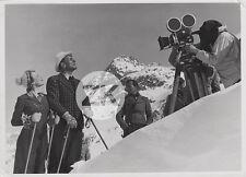LUIS TRENKER M. MATRAY Neige WEISSEN BERG Montagne Ski CAMERA Tournage Photo '30