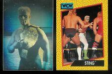 1991 IMPEL WCW WRESTLING COMPLETE SET 1-162 + STING HOLOGRAM