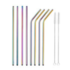Reusable Stainless Steel Metal drinking Straws- Long 10.5 Inch for 30oz
