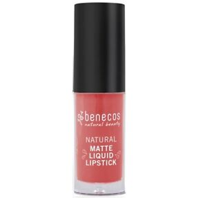 New Benecos Natural Natural Matte Liquid Lipstick Coral Kiss.16oz