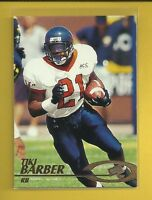 Tiki Barber RC 1997 Press Pass Rookie Card # 10 New York Giants Football