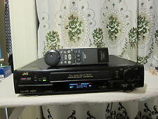 JVC HR-S7300U Super VHS Hi-Fi Stereo Video Cassette Recorder