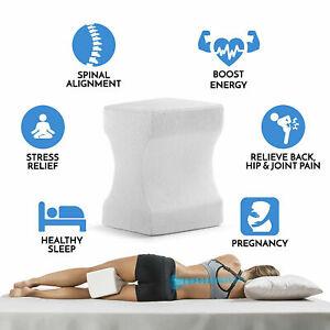 Memory Foam Leg Pillow Contour Bed Back Hip Leg & Knee Support Wedge Pillow