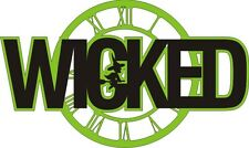 Wicked ( Musical ) Laser Cut for scrapbooking/ Card Making