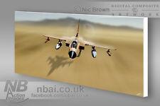 Tornado GR1 Gulf War CANVAS PRINT, Digital Artwork