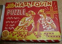 Vintage Harlequin Puzzle Game