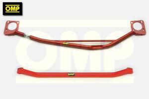 OMP UPPER & LOWER STRUT BRACES CITROEN SAXO VTS 1.6 16v