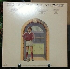 ROD STEWART The Best of Rod Stewart DOUBLE Album Released 1976 Record Vinyl Coll