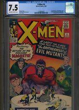 X-Men #4 (Mar 1964, Marvel) 7.5 VF- OW/WHITE CGC 1ST SCARLET WITCH + 2nd Magneto