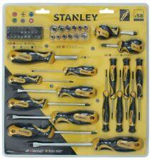 Stanley Destornillador Conjunto de herramientas de Agarre Suave - 58 Pieza
