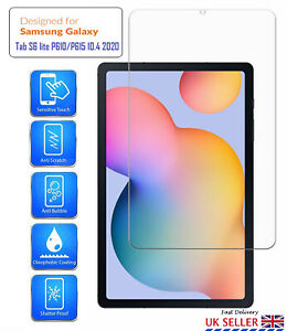 For Samsung Galaxy Tab S6 Lite P610 (2020) Tempered Glass HD Screen Protector